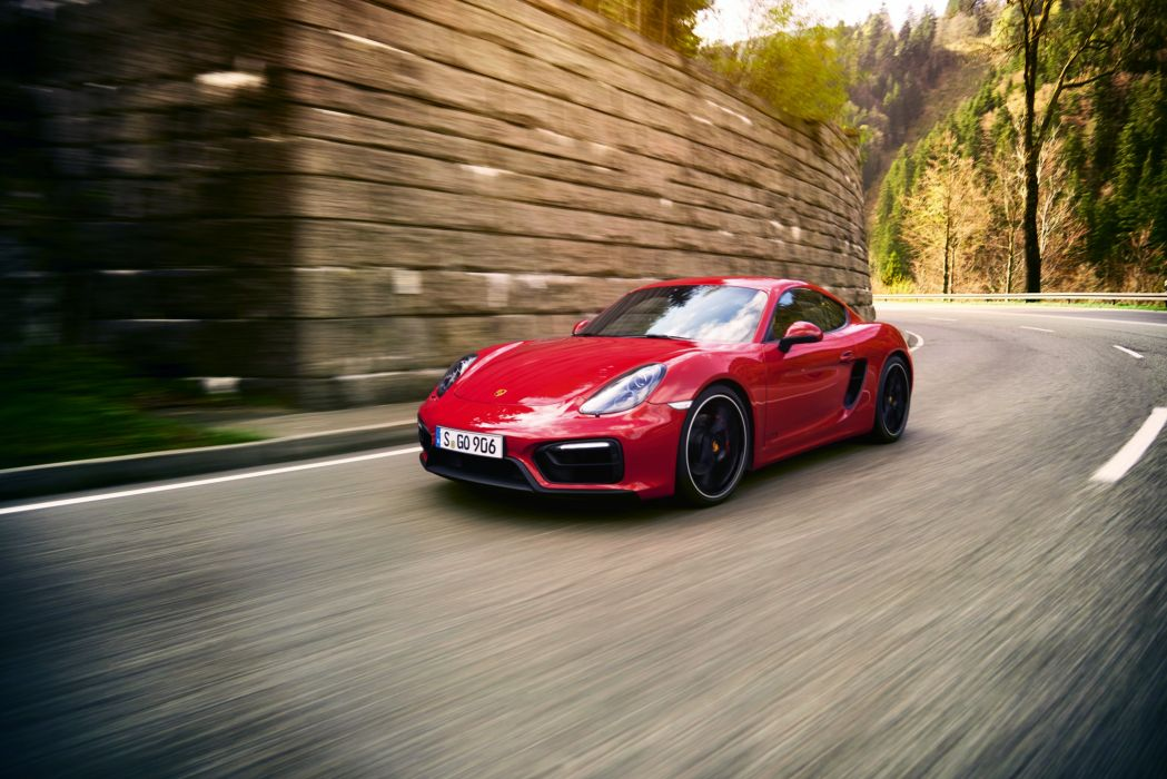 2015 Porsche Cayman GTS 981C wallpaper
