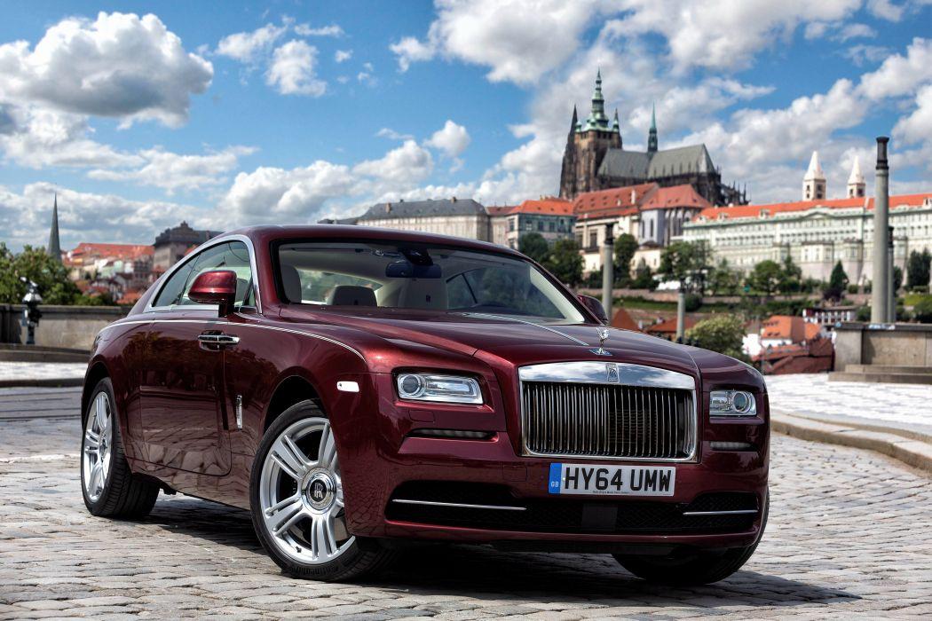 2014 Rolls Royce Wraith luxury wallpaper