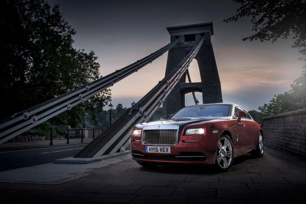 2013 Rolls Royce Wraith UK-spec luxury d wallpaper