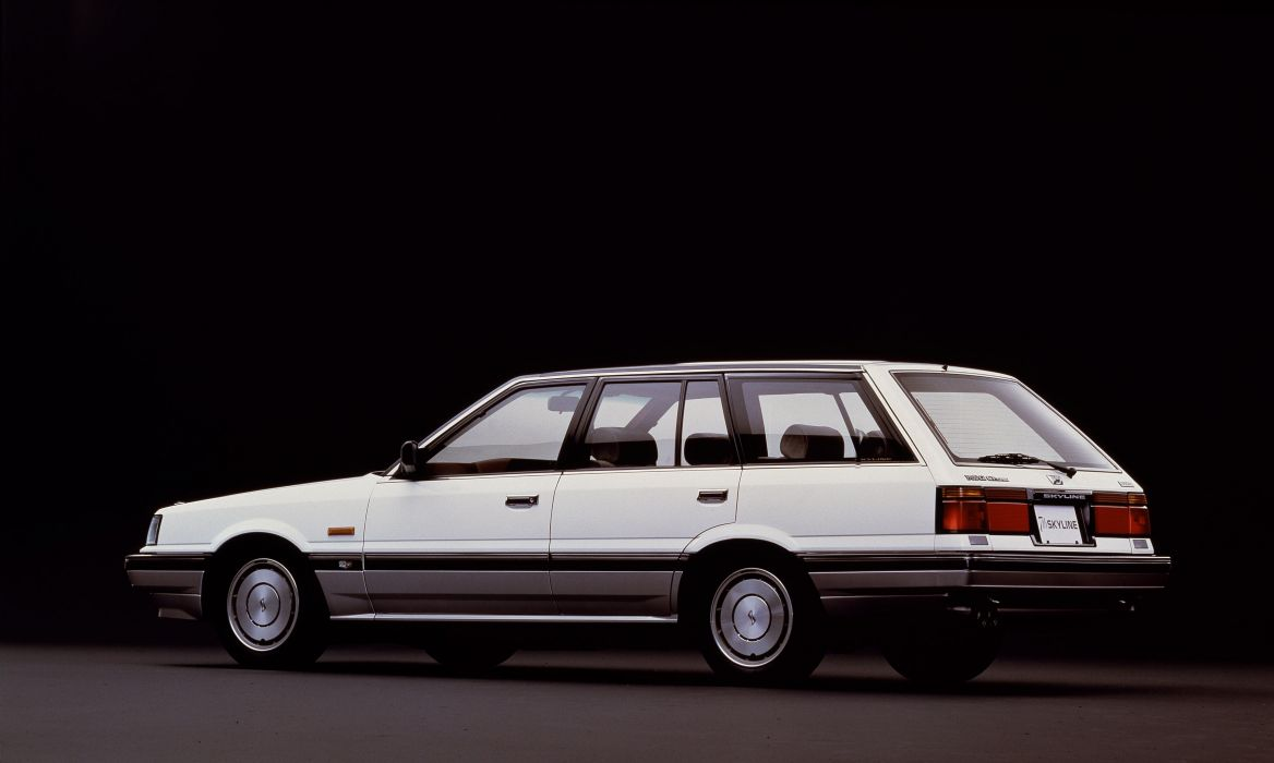 1987 Nissan Skyline StationWagon G-T Turbo wallpaper