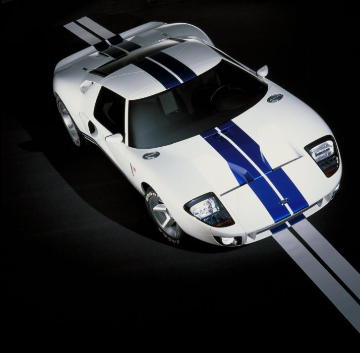 2002 Ford GT40 Concept supercar race racing wallpaper