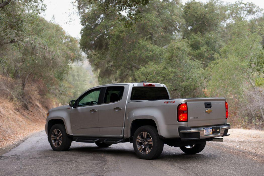 2016 Chevrolet Colorado L-T Crew Cab Duramax Diesel pickup wallpaper
