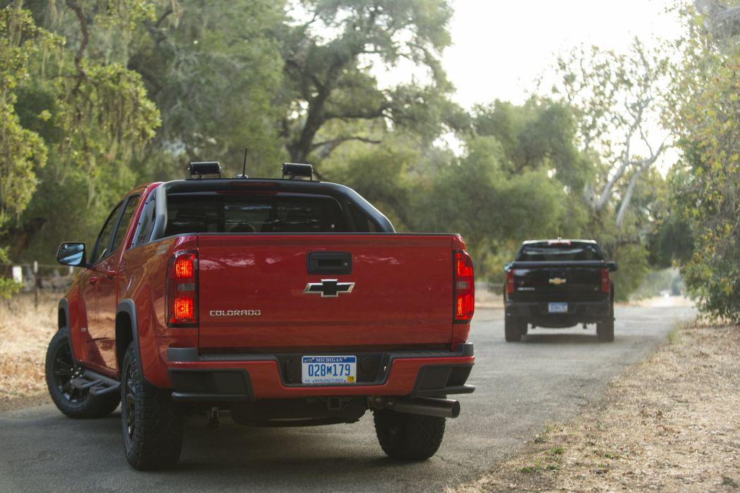 2016 Chevrolet Colorado Z71 Crew Cab Duramax Diesel pickup wallpaper
