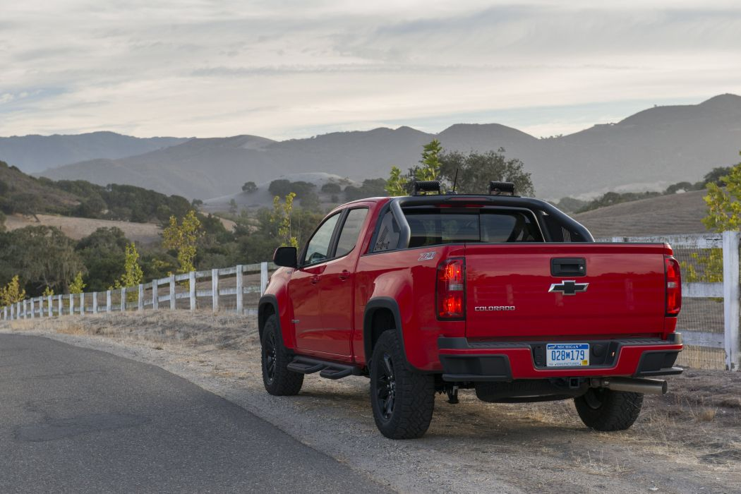 2016 Chevrolet Colorado Z71 Crew Cab Duramax Diesel pickup wallpaper
