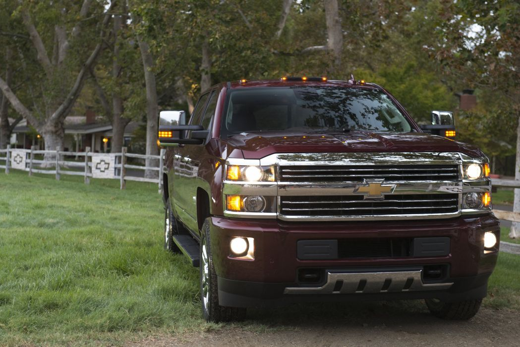 2016 Chevrolet Silverado 2500 H-D High Country Crew Cab pickup wallpaper