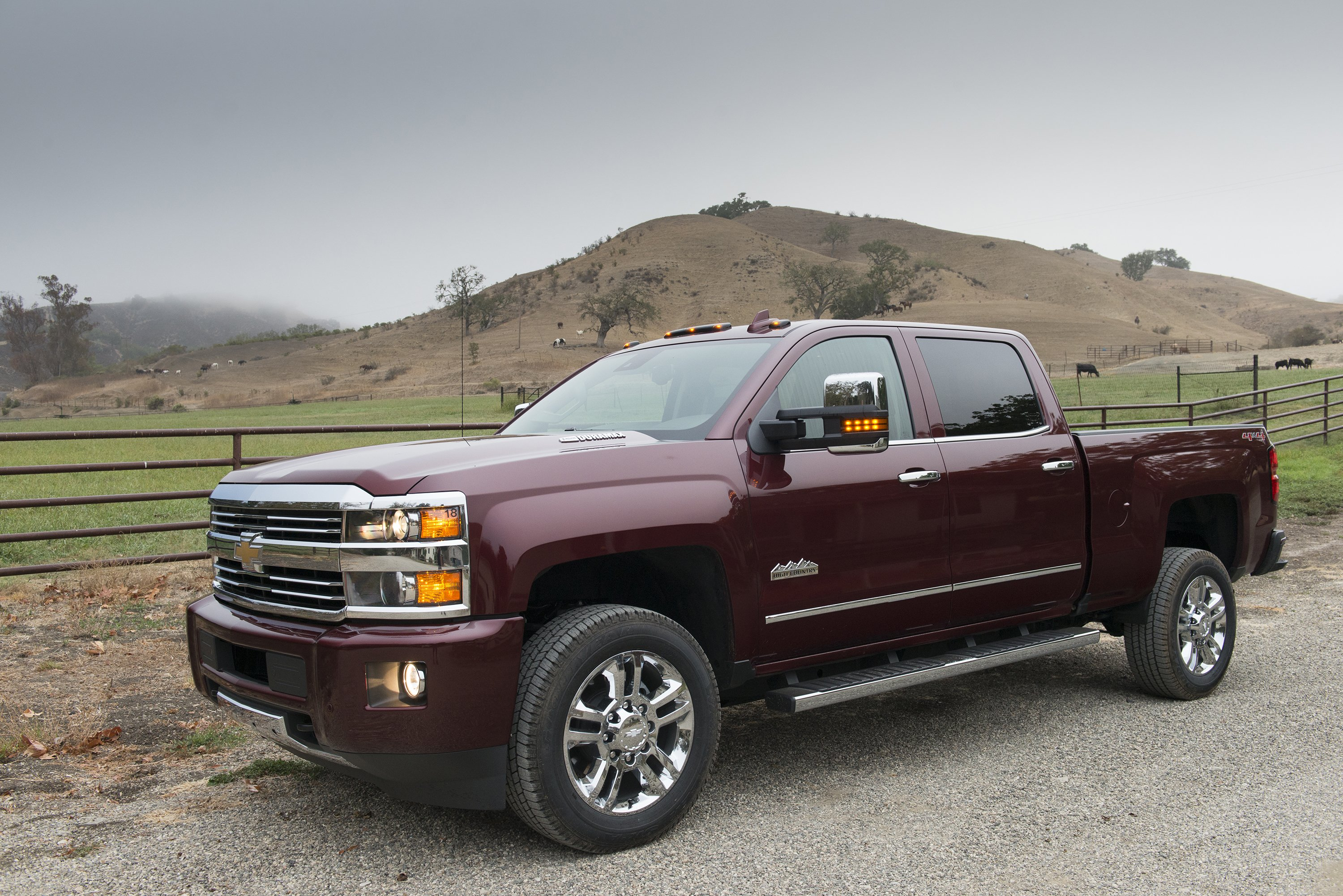2016 Chevrolet Silverado 2500 H D High Country Crew Cab Pickup Wallpaper 3000x2002 815012 Wallpaperup