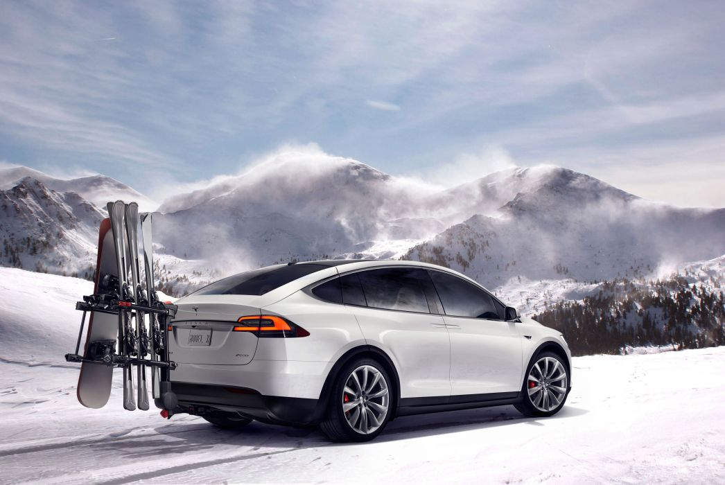 2015 Tesla Model-X P90D wallpaper