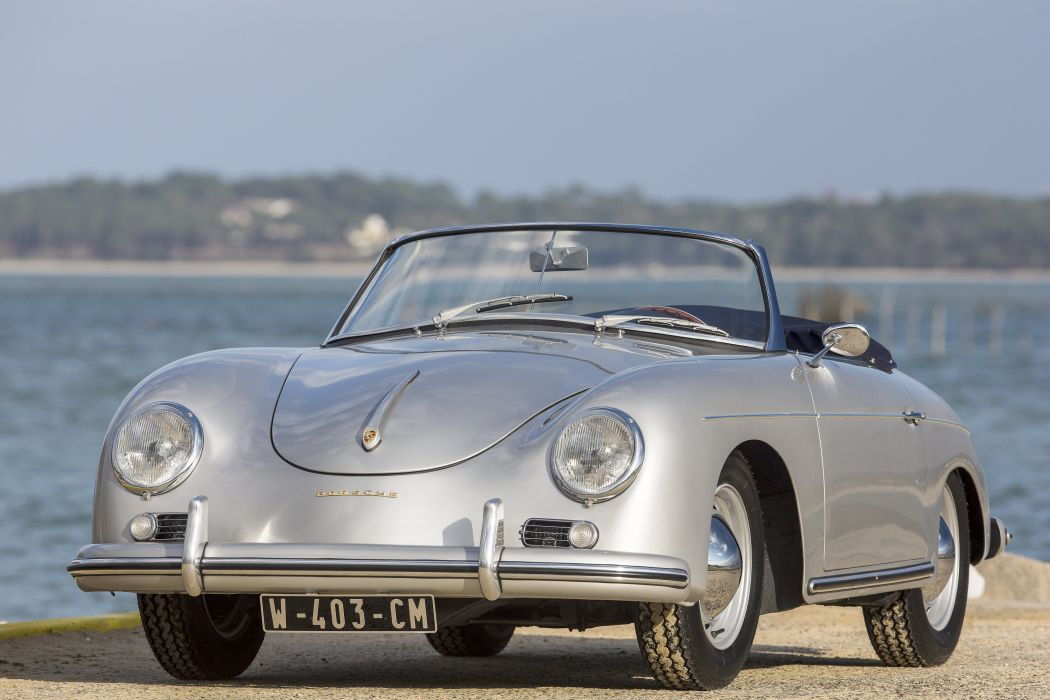 1959 Porsche 356A 1600 Super Convertible D Reutter T-2 retro f wallpaper