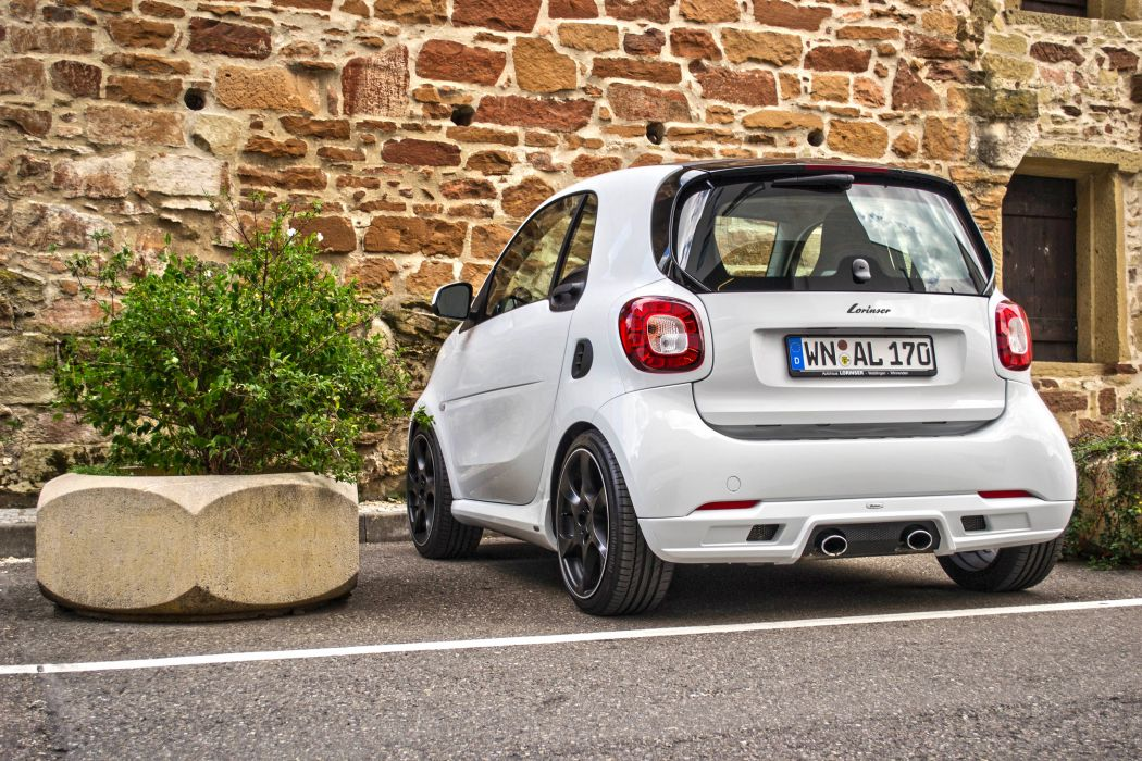 2015 Lorinser smart fortwo coupe 453 tuning wallpaper