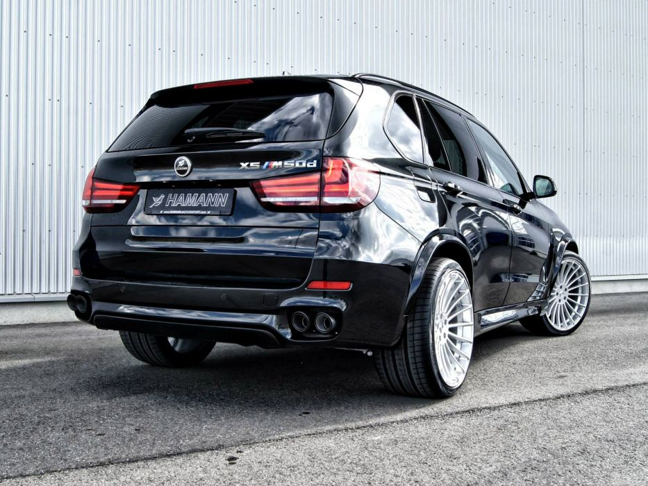 2014 Hamann BMW X-5 M50d F15 xuv tuning stationwagon d wallpaper