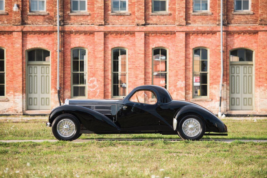 1938 Bugatti Type 57C Atalante luxury vintage wallpaper