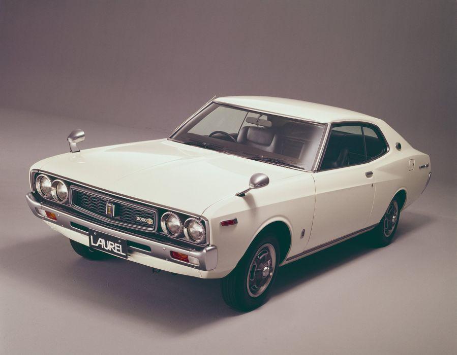 1974-77 Nissan Laurel Coupe C130 classic wallpaper