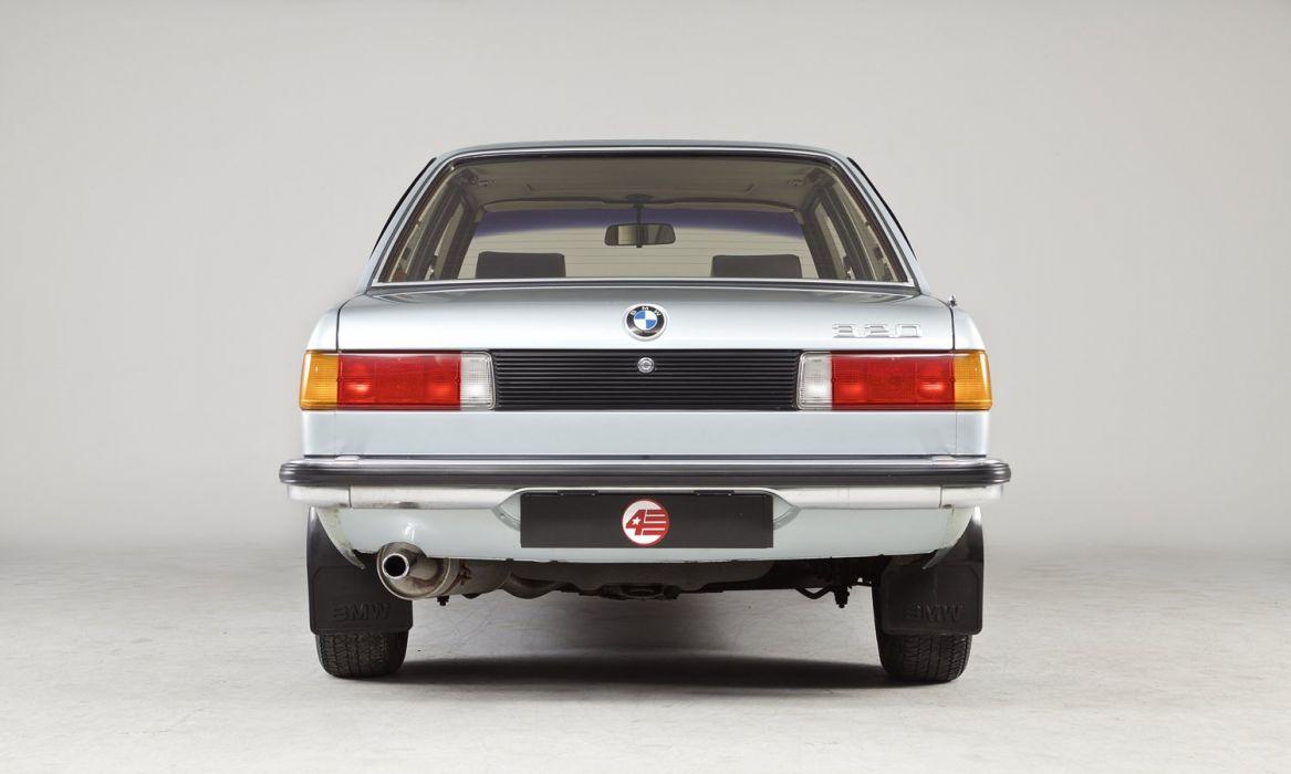 1982 BMW 320 Coupe Automatic UK-spec E21 wallpaper