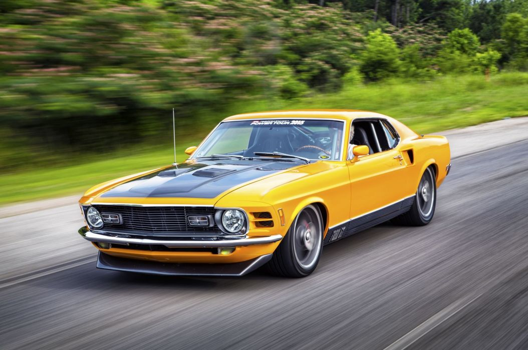 1970 Mach-I Mustang coupe cars wallpaper