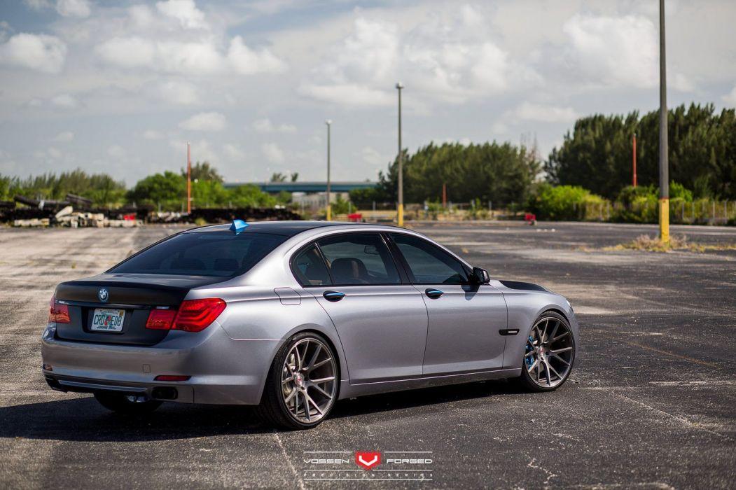 BMW 7-Series cars sedan vossen wheels wallpaper