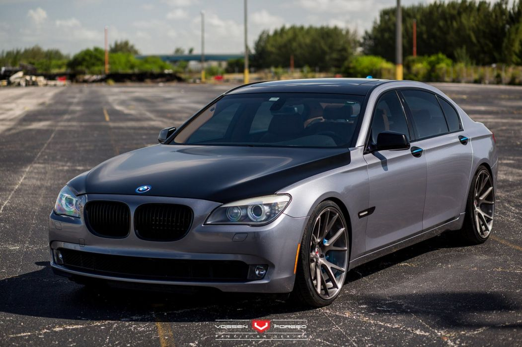 BMW 7-Series cars sedan vossen wheels wallpaper