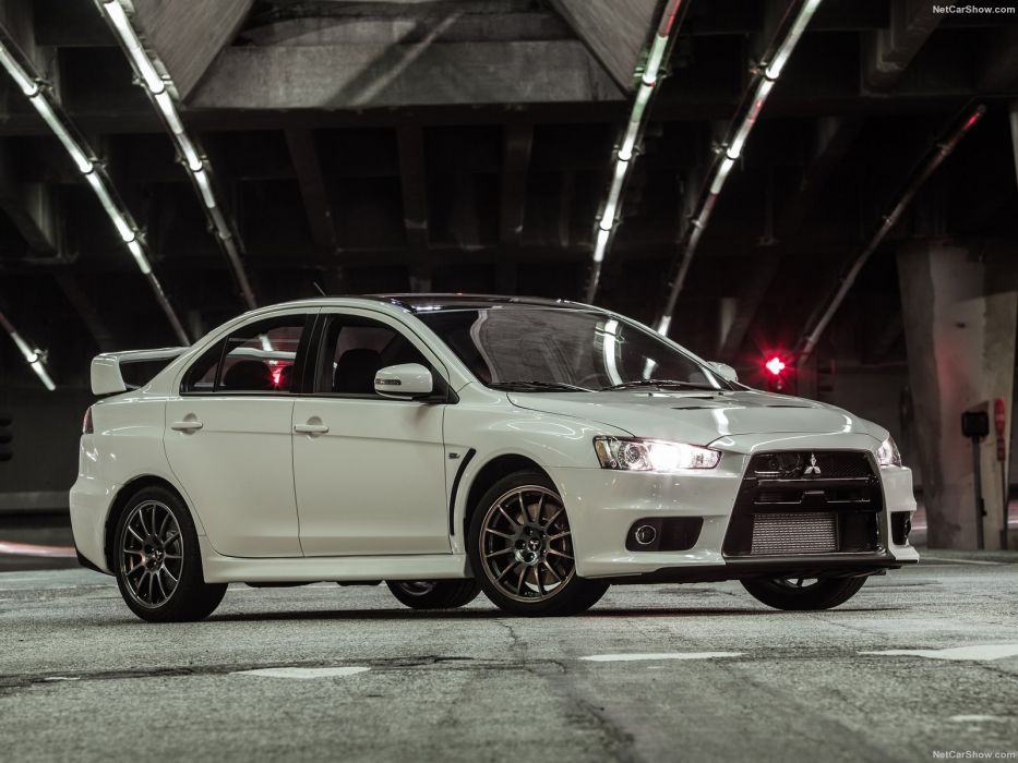 Mitsubishi Lancer Evolution Final Edition cars sedan 2015 wallpaper