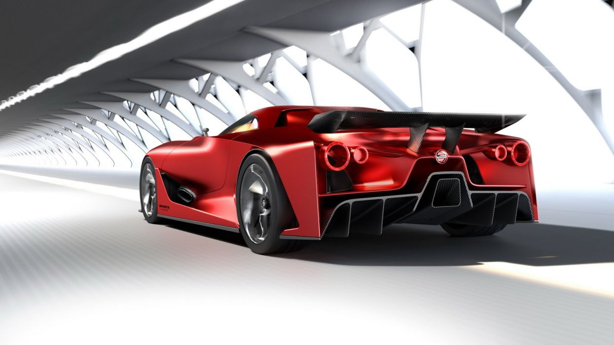 Nissan 2020 Vision Gran Turismo cars concept videogames cars wallpaper