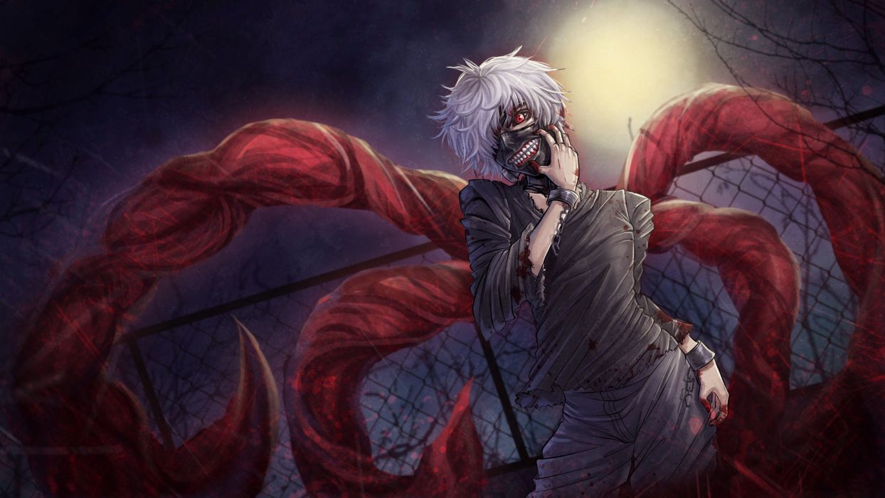 Tokyo Ghoul anime character series male wallpaper