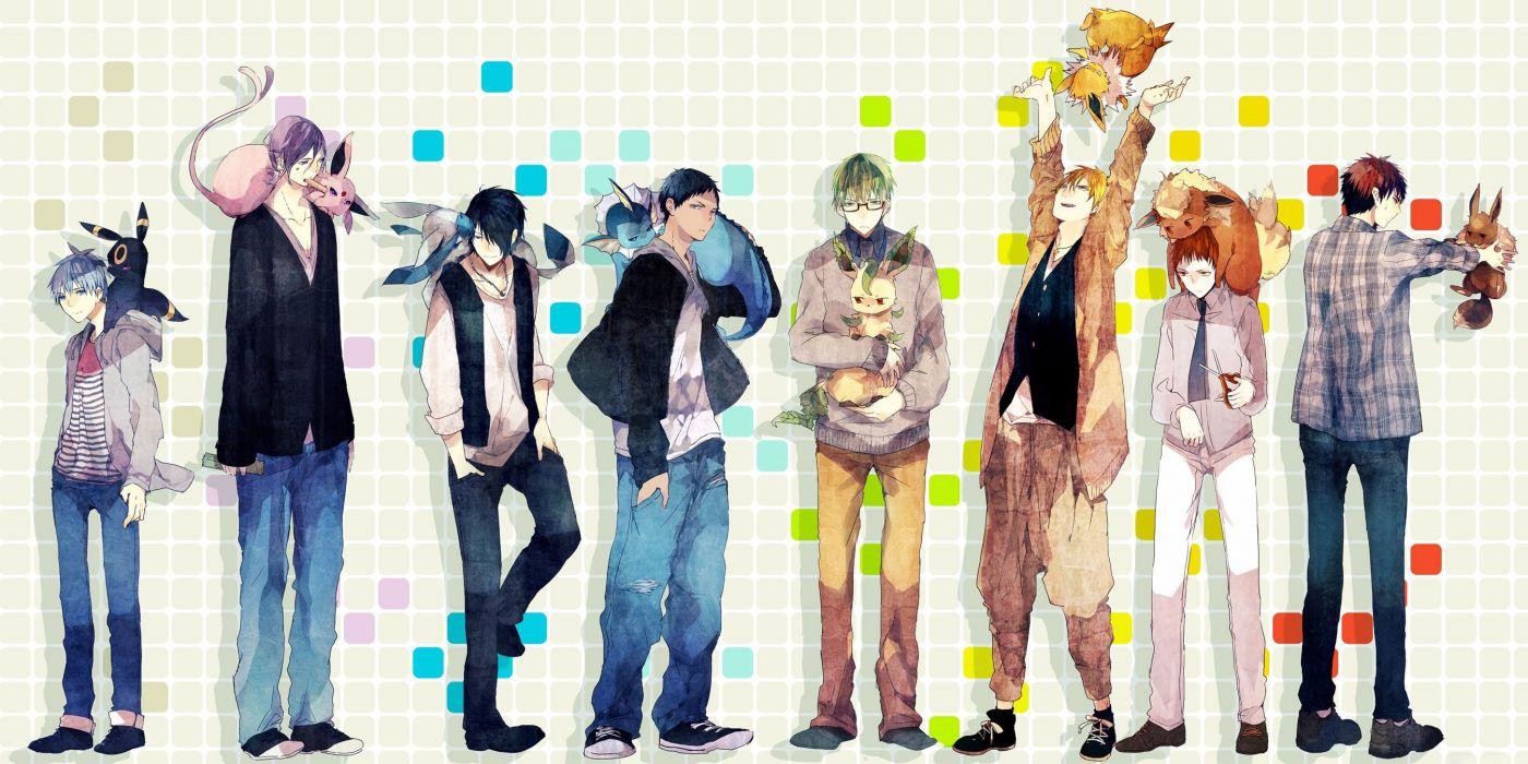 Kuroko no Basket anime character series beautiful cool boys wallpaper
