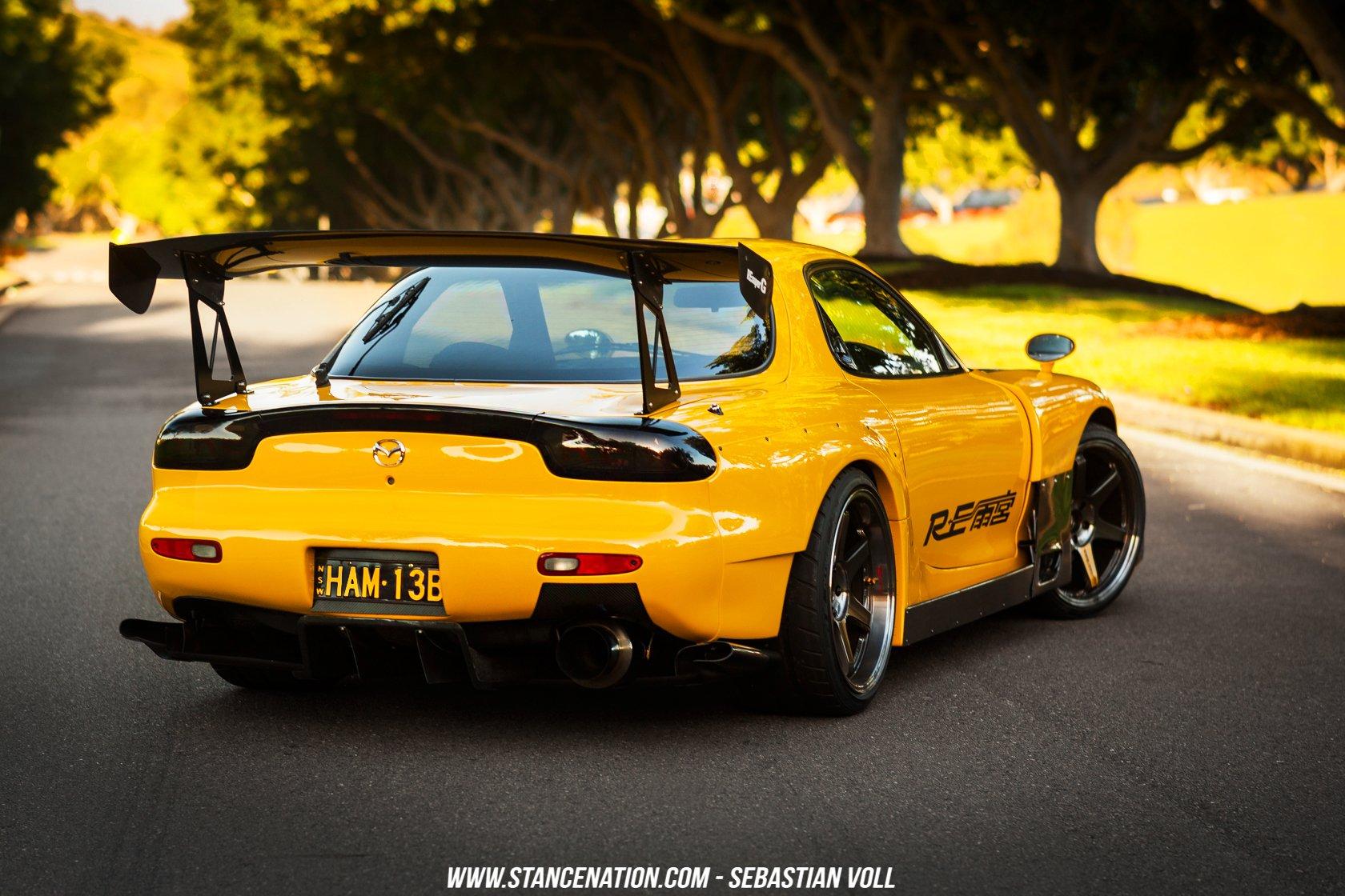Mazda Rx 7 Coupe Cars Modified Wallpaper 1680x1120