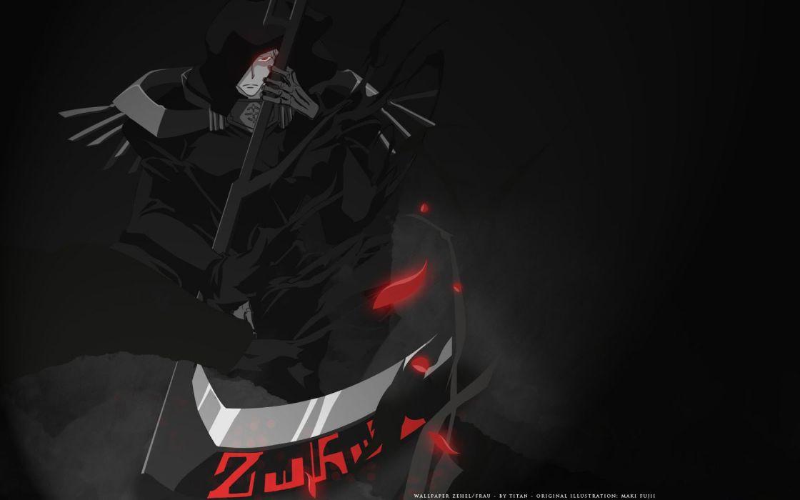 original anime character series 07 Ghost cool boy wallpaper