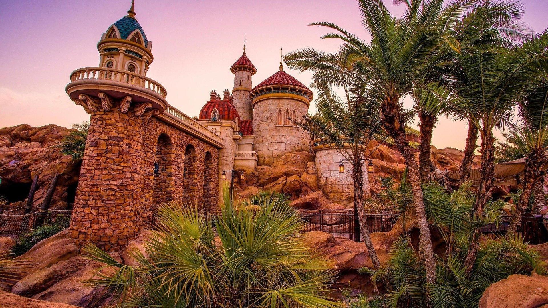 magic kingdom wallpaper free