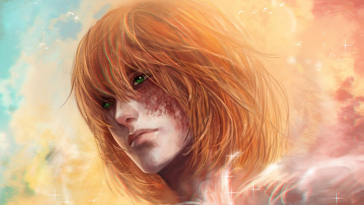 mello anime character art death note rikamello wallpaper