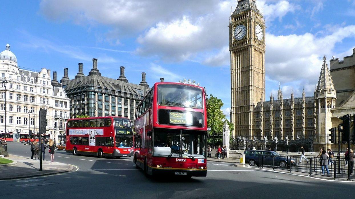 london england bus city wallpaper