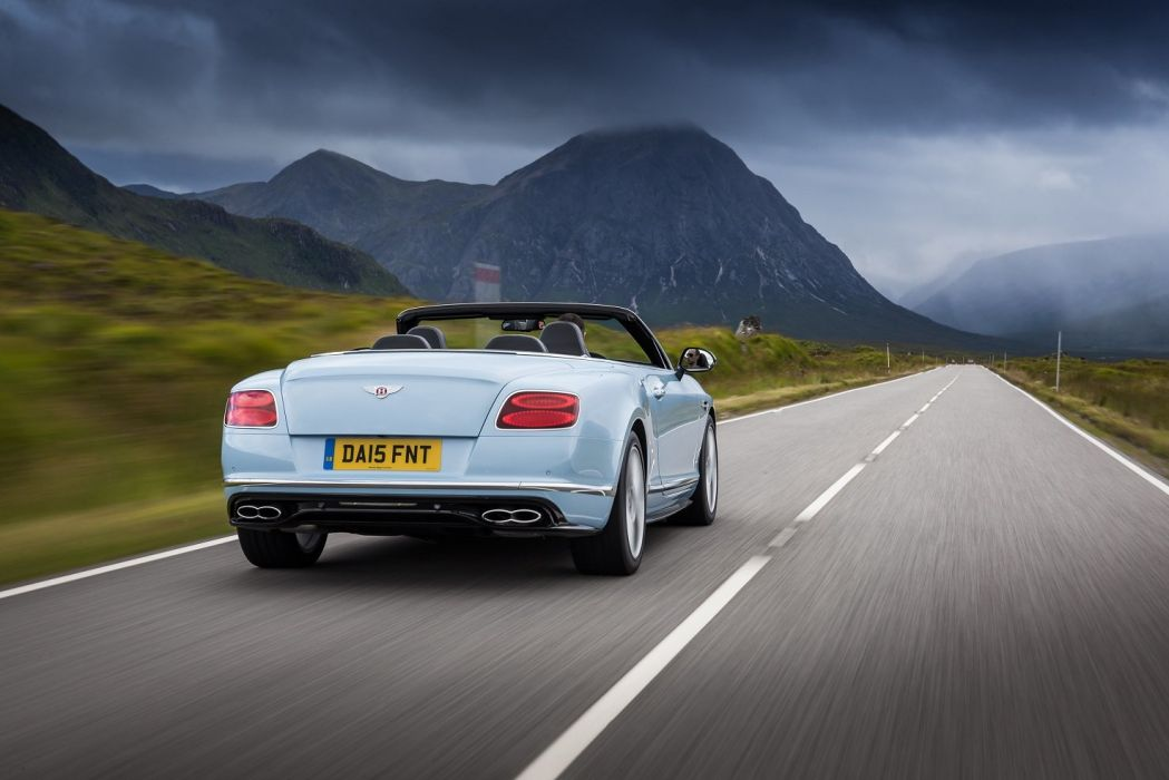Bentley Continental-GT V8-S Convertible UK-spec cars 2015 wallpaper