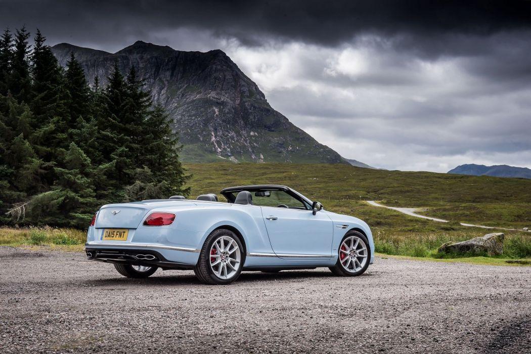 Bentley Continental-GT V8-S Convertible UK-spec cars 2015 wallpaper