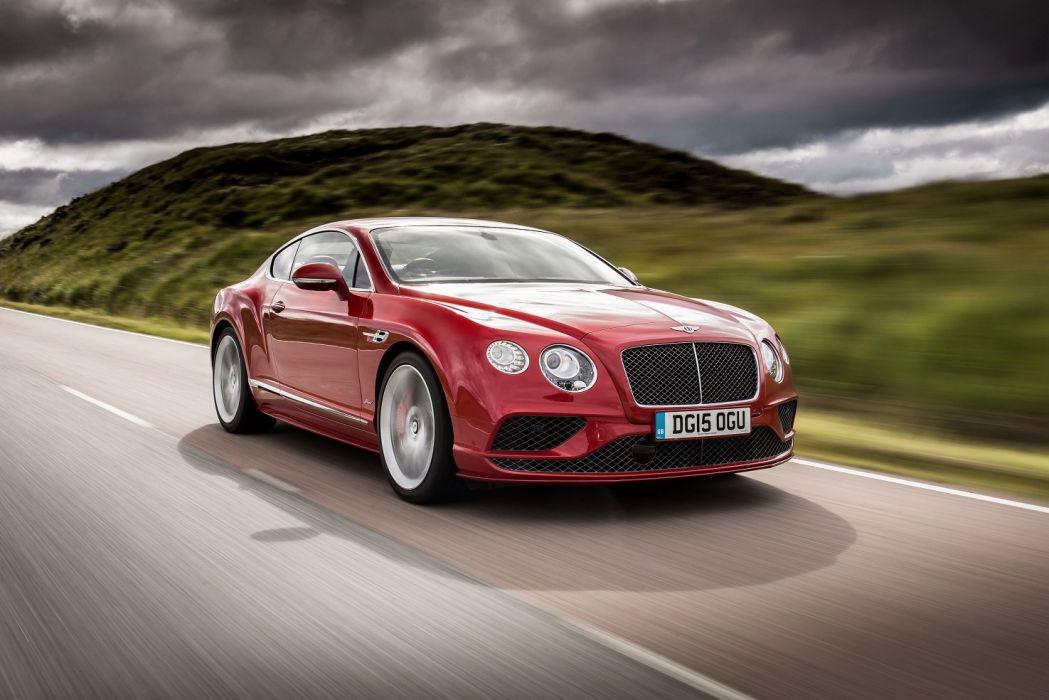 Bentley Continental-GT Speed UK-spec cars 2015 wallpaper