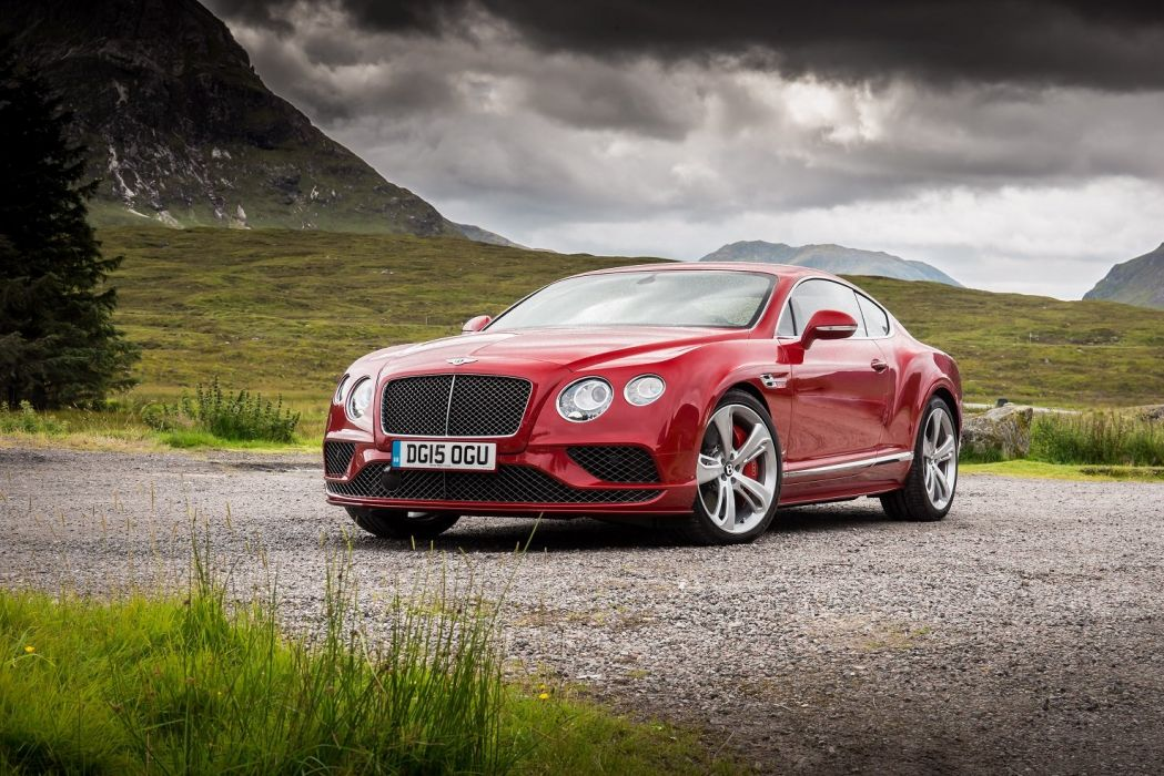 Bentley Continental-GT Speed UK-spec cars 2015 wallpaper