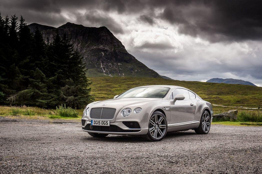 Bentley Continental-GT UK-spec cars 2015 wallpaper