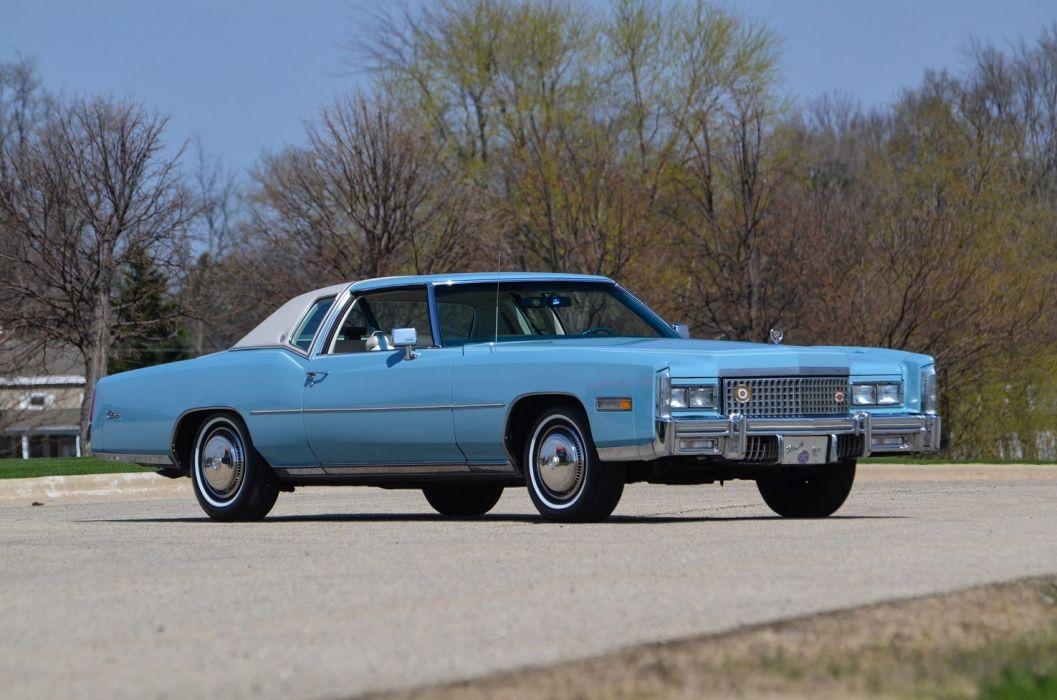 1975 Cadillac Fleetwood Eldorado cars usa wallpaper