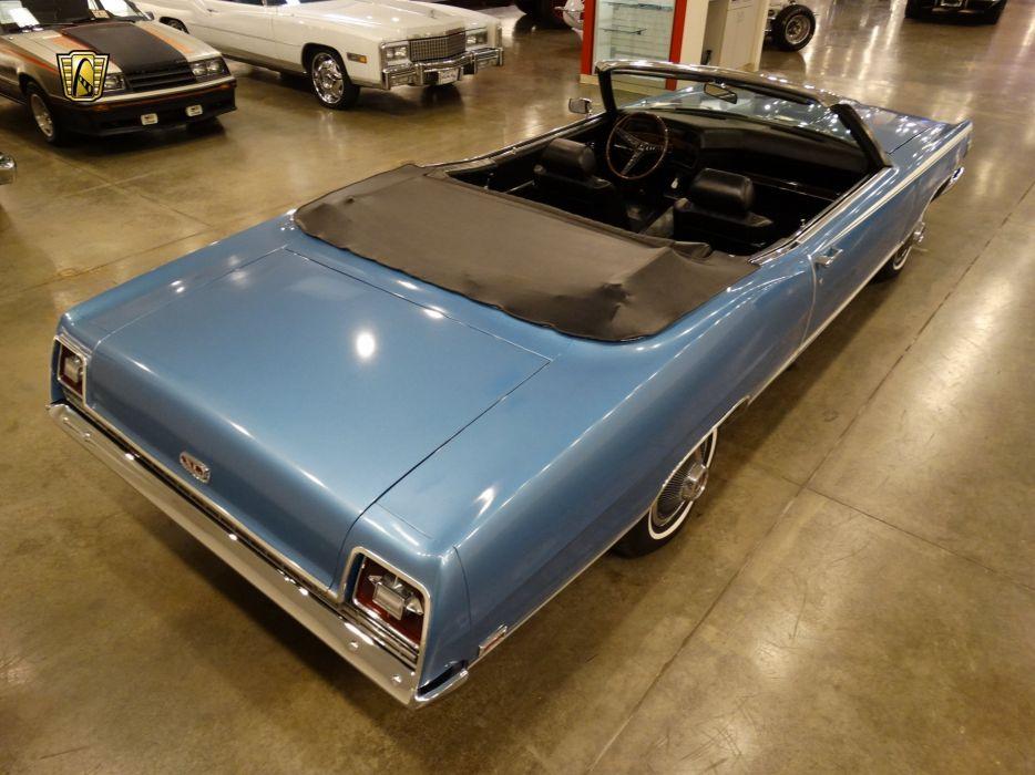 1969 Ford Galaxie convertible cars usa classic retro wallpaper