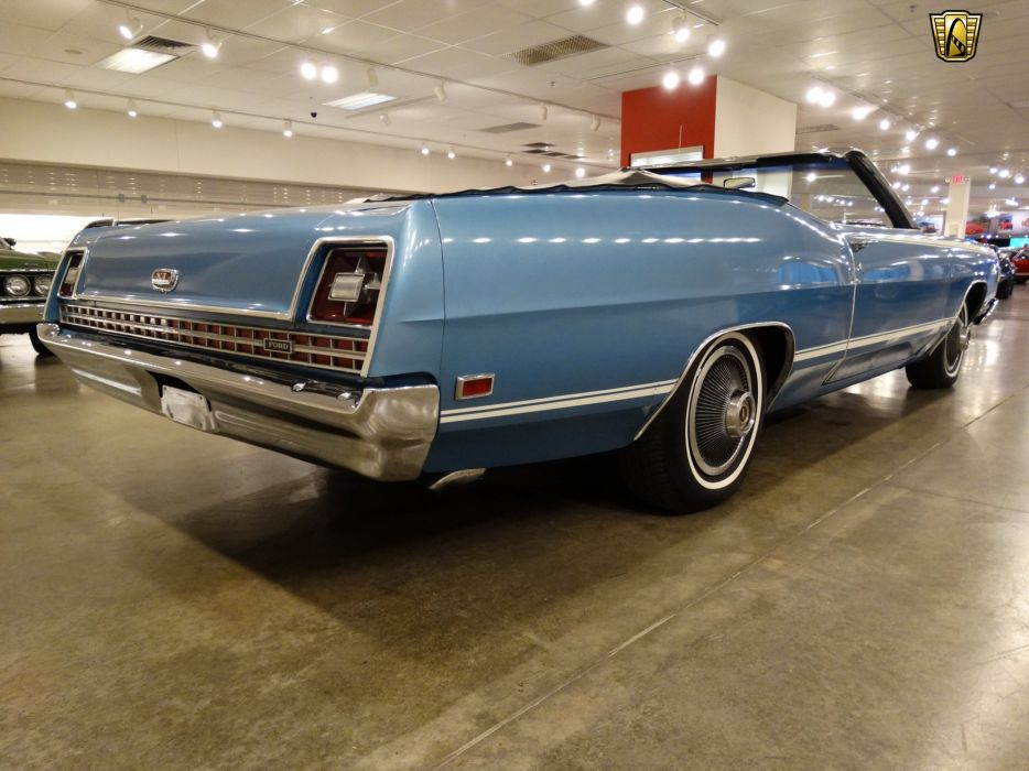 1969 Ford Galaxie convertible cars usa classic retro wallpaper