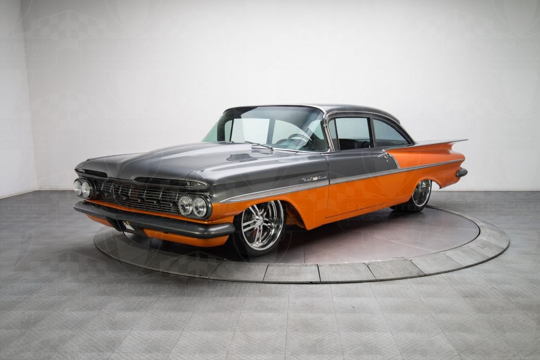 1959 Chevrolet Bel Air cars classic wallpaper