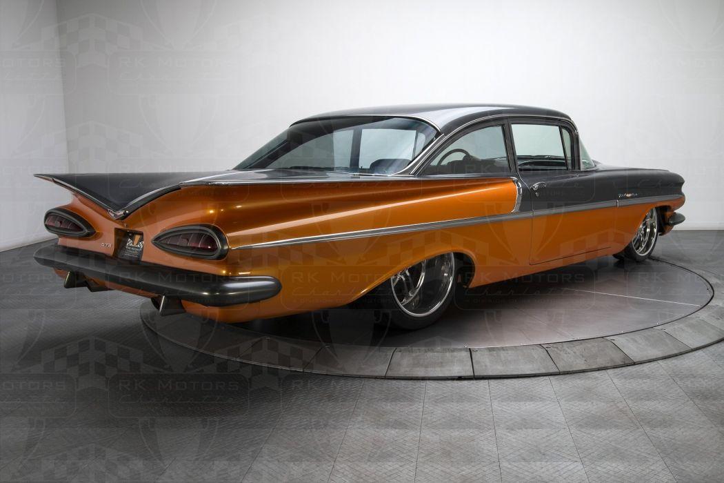 1959 Chevrolet Bel Air cars classic wallpaper