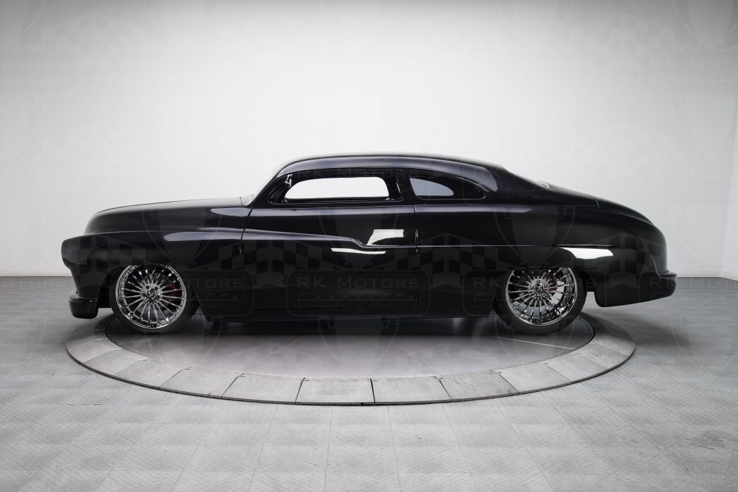 1950 Mercury Sedan cars black classic wallpaper