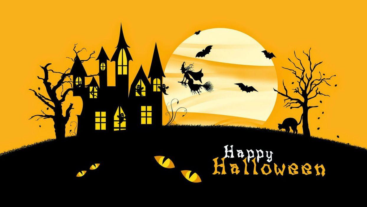 HALLOWEEN holiday dark horror spooky wallpaper