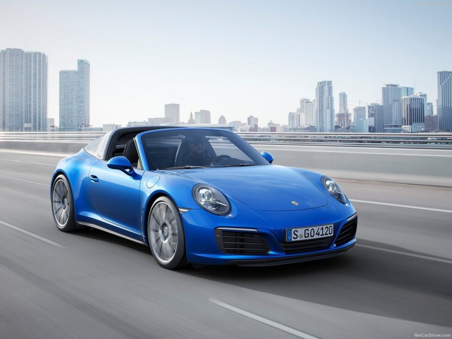 Porsche 911 Targa cars 2016 wallpaper