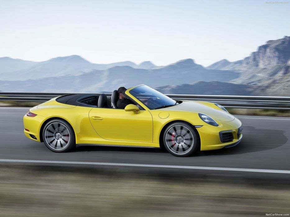 Porsche 911 carrera-4 cars convertible cabriolet 2016 wallpaper