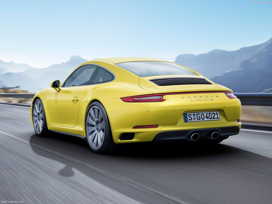 Porsche 911 carrera-4 cars coupe 2016 wallpaper