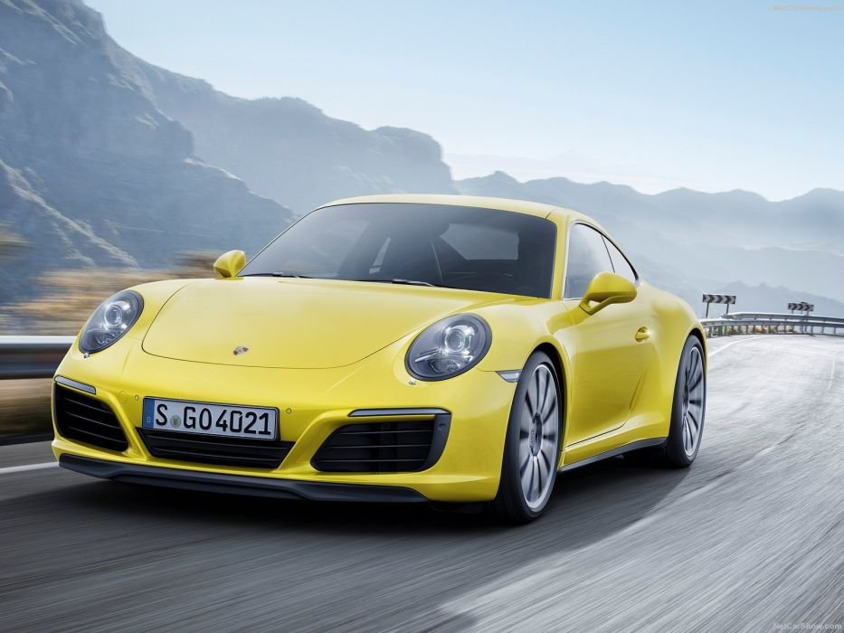 Porsche 911 carrera-4 coupe cars 2016 wallpaper