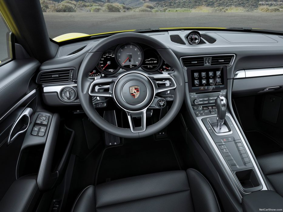 Porsche 911 carrera-4 cars interior 2016 wallpaper