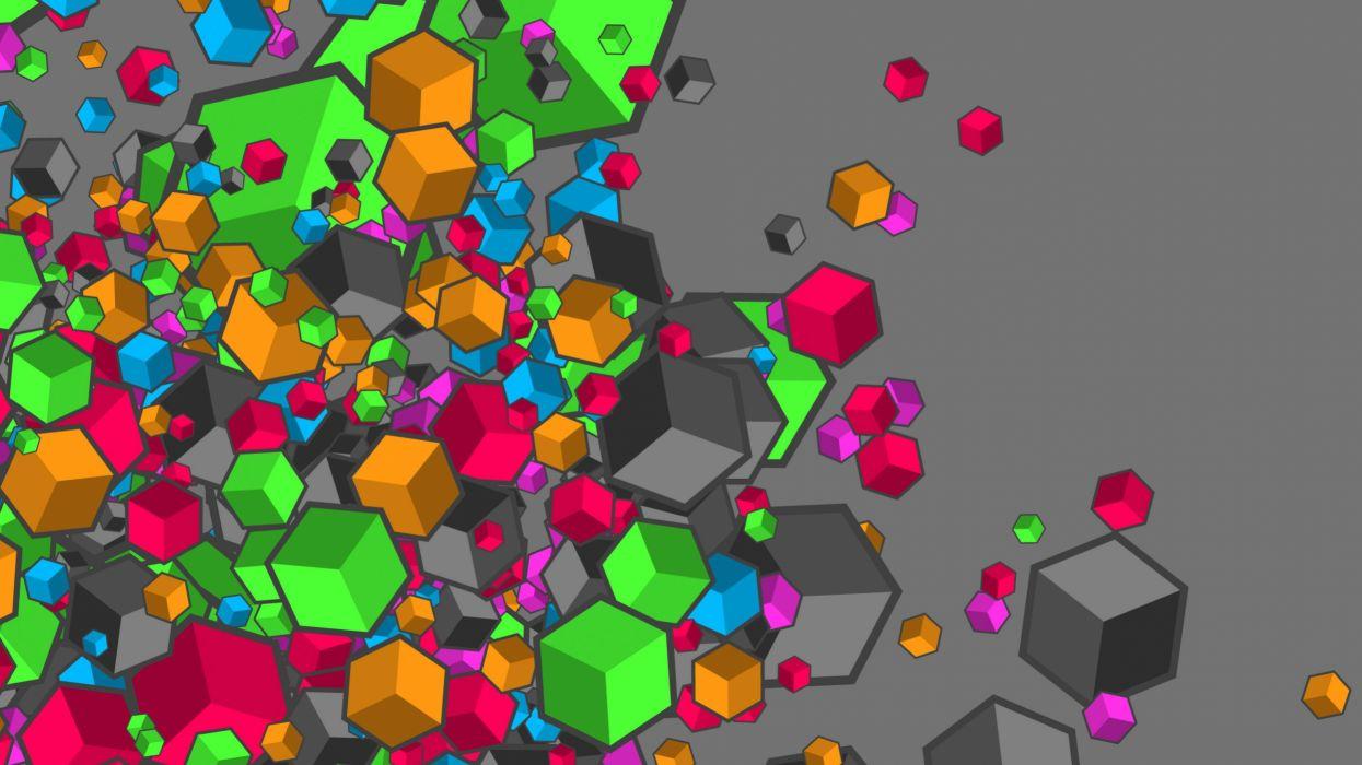 abstracto vector cuadrados wallpaper