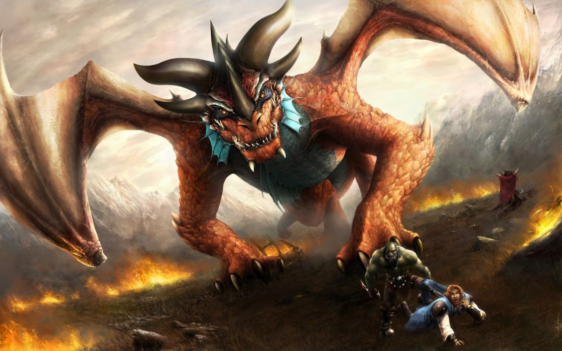 Digital Art 3d monster fantasy wallpaper