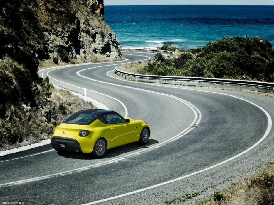 Toyota S-FR Concept cars 2015 wallpaper