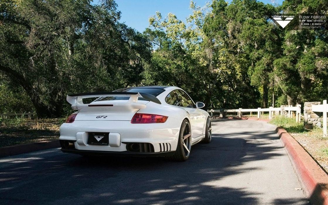 2015 Vorsteiner S3ctor Porsche 997 GT2 cars wallpaper